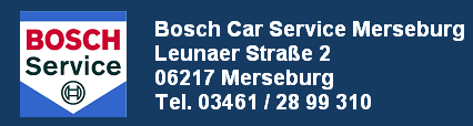 Bosch Car Service Merseburg